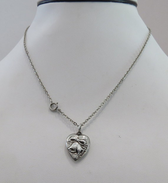 Holiday Bell Great Bride Anniversary Gift Twenty Inch Chain Silver Bell with Rhinestone Pendant Necklace Wedding Bell