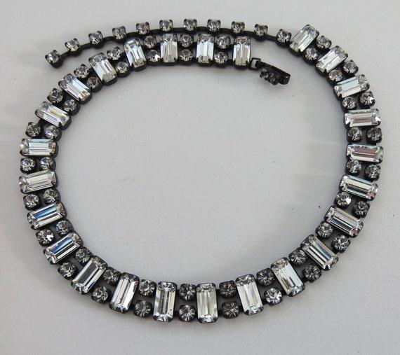 Rhinestone Choker Fenichel Rhinestone dog collar