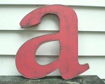 "24"" Lowercase Wooden Letter  