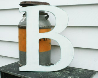 "18"" Wooden Uppercase Letter  
