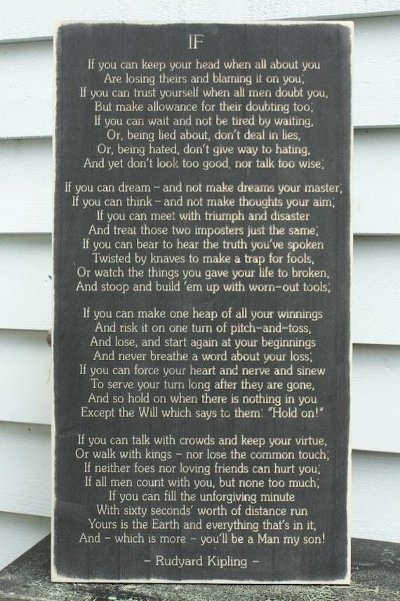 man poem rudyard kipling
