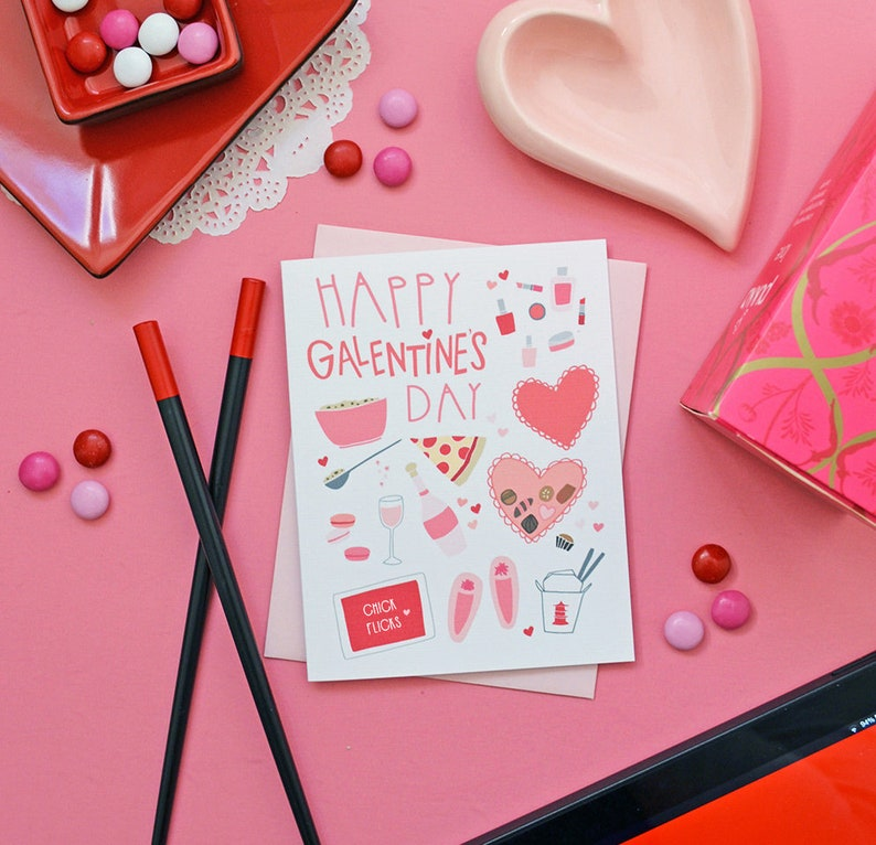 Happy Galentine's Day BFF February 13 Girl stuff Best image 0