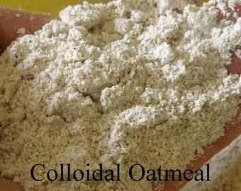 Oatmeal Powder Bath Soak, Colloidal Oatmeal Powder 4 Oz to 1 Lb, Bath and Beauty Supplies