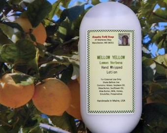 Lemon Verbena Lotion, MELLOW YELLOW, Lemon Verbena Body Lotion, Lemon Verbena Hand Lotion