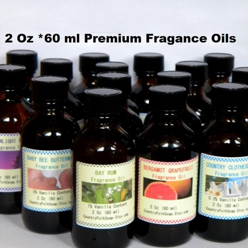 Fragrance Oils Candle Fragrance Oil Soap Fragrance Oil 2 Oz image 0