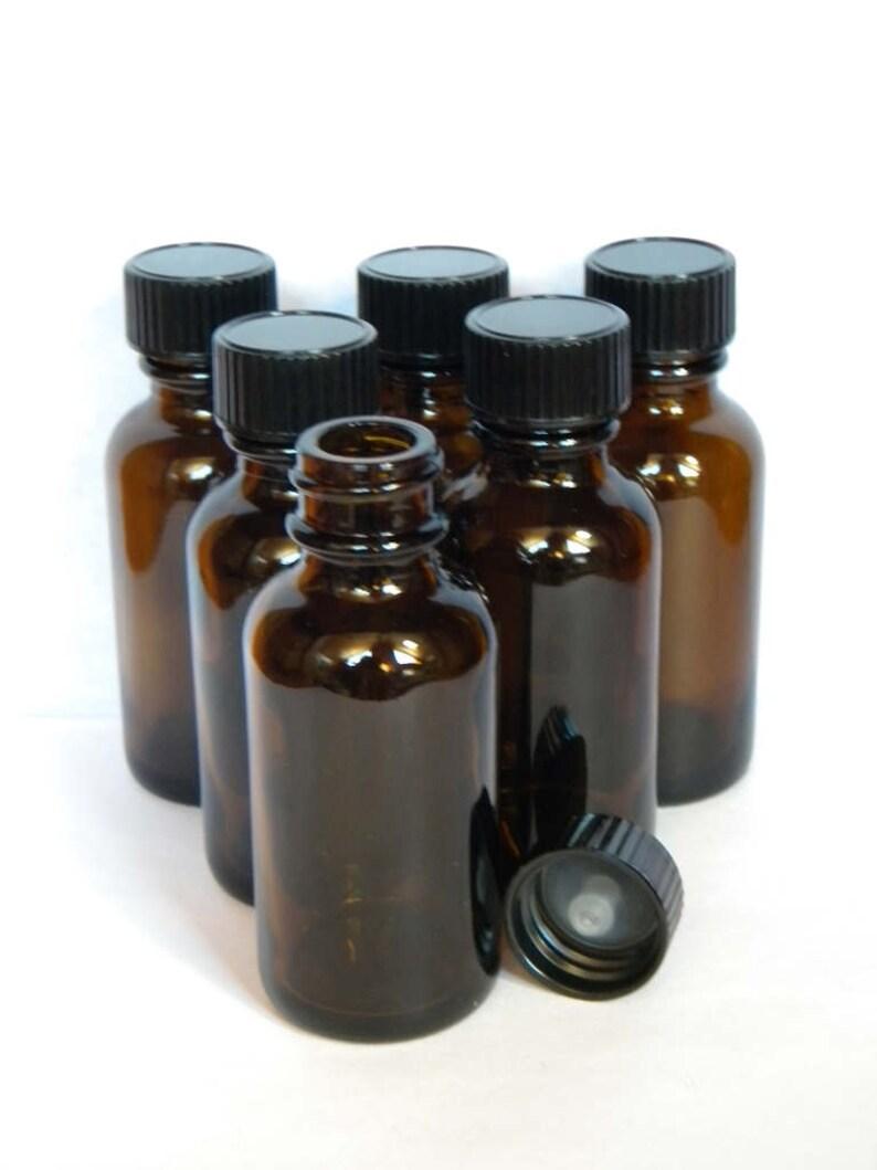 Glass Dropper Bottles Empty Dram or Oz Bottles For Essential or Fragrance Oil Dispensing /& Storage Amber Dropper Bottles Dropper Bottles