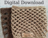 Crochet Cozy Pattern, Candle Holder, PDF Cozy Pattern, Pattern Bundle, Crochet Gift Ideas, Crochet Tutorial, Crochet Fall Gift, DIY Crochet