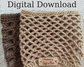 Crochet Cozy Pattern, Candle Holder, PDF Cozy Pattern, Pattern Bundle, Crochet Gift Ideas, Crochet Tutorial, Crochet Fall Gift, DIY Crochet