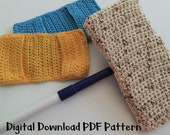 Swiffer Mop Cover,  Crochet Dust Mop Pattern,  Instant Download,  All Purpose, Digital PDF,   Beginner Easy Instructions,  Learn to Crochet