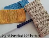 Swiffer Mop Cover,  Crochet Dust Mop Pattern,  Instant Download,  All Purpose, Digital PDF,   Beginner Easy Instructions,  Learn to Crochet