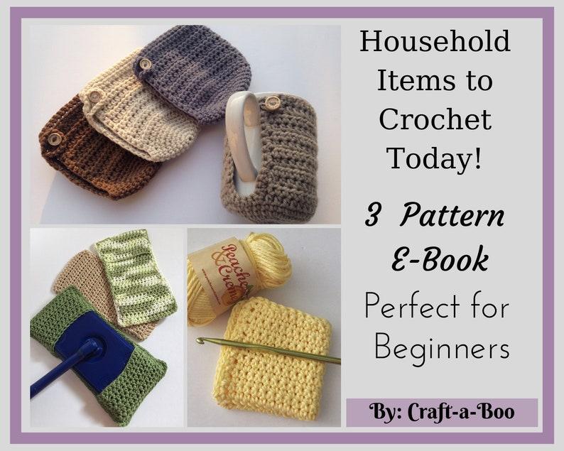 Crochet Pattern Ebook Pattern Bundle Crochet Instructions image 0