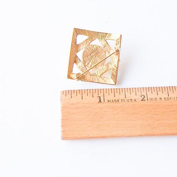 Vintage Pearl Brooch,  Pearl Pin - image 4