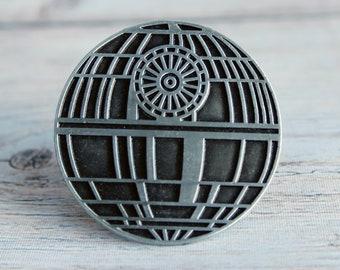 Star Wars Drawer Knobs Metal  - Death Star Cabinet Knobs for Star Wars Decor for Kids Room or Man Cave - Housewarming Gift