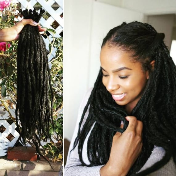 35 Synthetic Dreads Synthetic Dreadlock Extensions Etsy