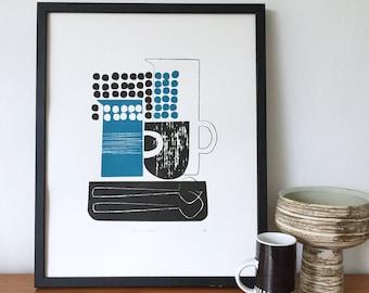 Ceramics screen print