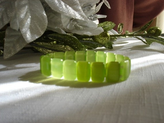 Lime Green Beads