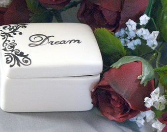 Ceramic Dream Keepsake Box
