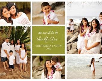 Custom Family Collage Design YOU PRINT 5x7