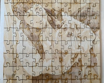 Your picture on a puzzle / custom puzzle / wood puzzle / jigsaw puzzle