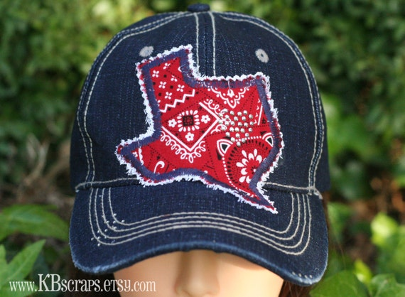 Heart of Texas hat cap (blue denim)