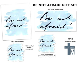 Be not afraid | Etsy
