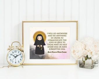 Saint francis xavier   Etsy