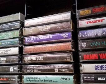 Cassette Tapes ROCK J Thru Z 70s 80s 90s Classic Rock n | Etsy