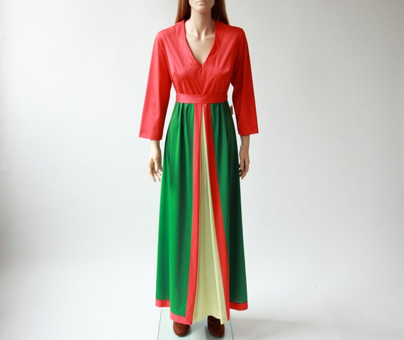 60s/70s VANITY FAIR maxi gown
