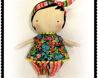 Sweet dolly Handmade Tilda doll