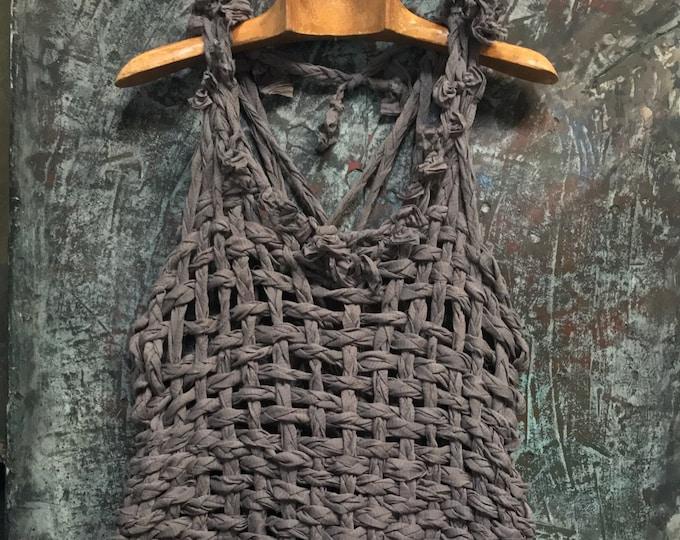 Cotton braid Weaving Tops   CC 0176-A