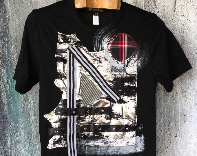 Mixed Media Art T-Shirt  CC0219-E