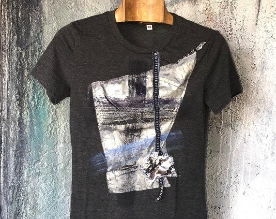 Mixed Media Art T-Shirt  CC0219-G