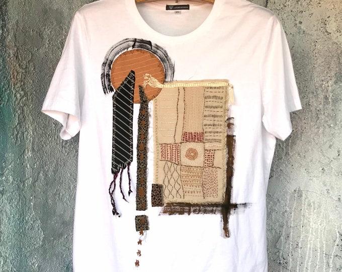 Mixed Media Art T-Shirt