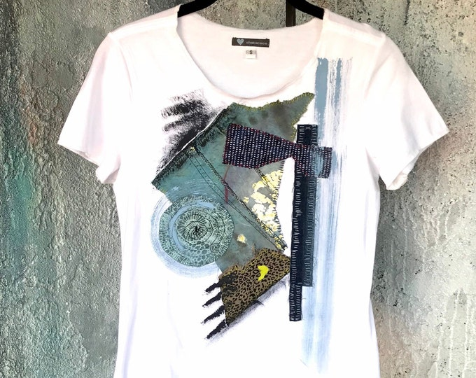 Mixed Media Art T-Shirt