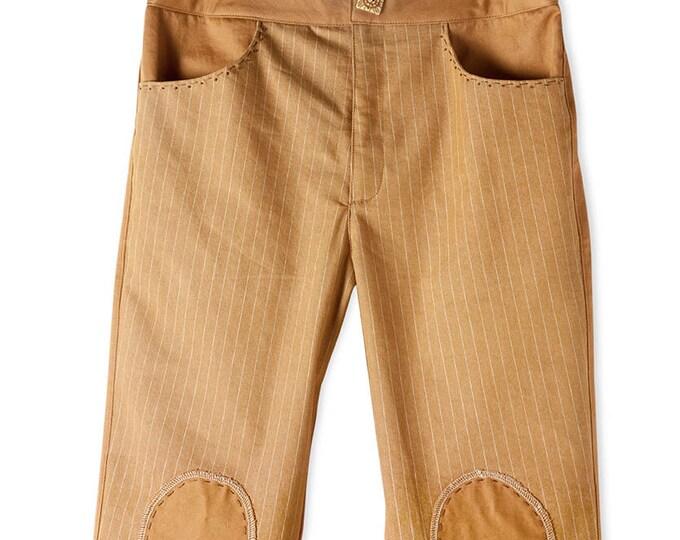 Sandstone color slim pants   CC0124