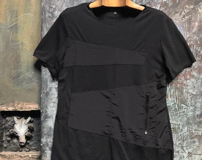 Black Unisex Design T-shirt  CC0180