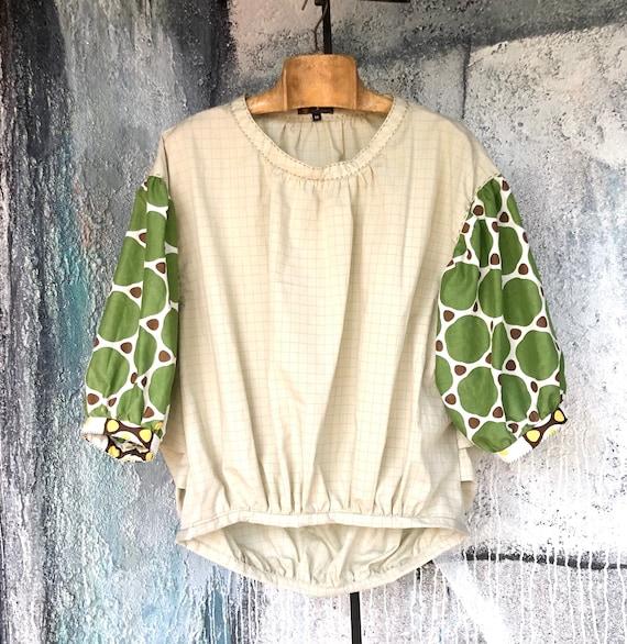 3/4 Sleeves  Cotton Design Shirts