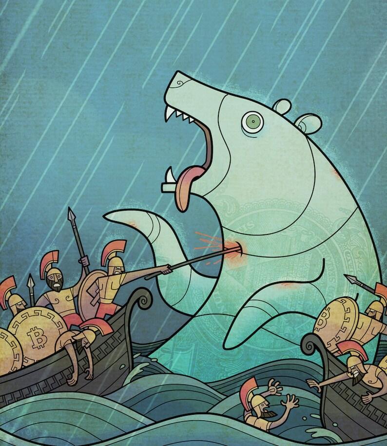 Bitcoin Bear Whale image 0