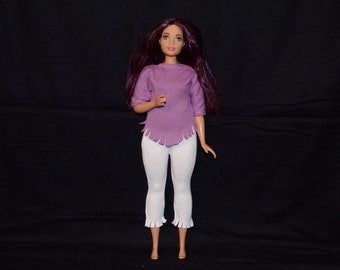 Blouse for Dolls. №232 Clothes for Curvy Barbie Doll