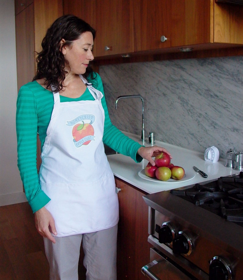 Honeycrisp Apple Apron with Matching Tattoo  Kitchen  image 0
