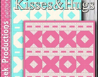 Kisses and Hugs Quilt