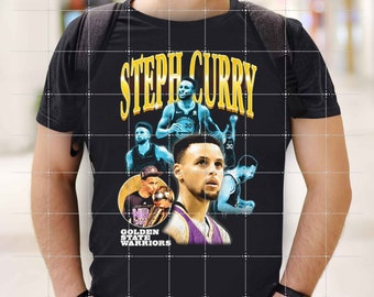 "Steph Curry Shirt, 2021 Vintage NBA Stephen ""Steph"" Curry Shirt, Golden State Basketball"