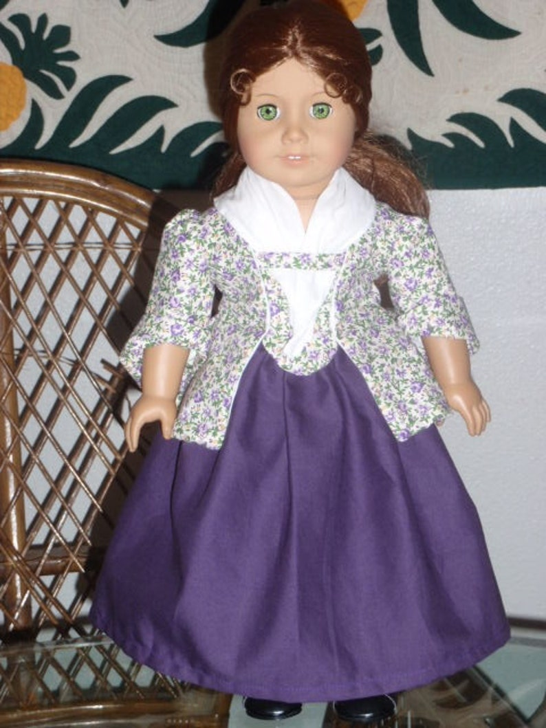 Felicity American Girl Doll Nightshift Nightgown Lappet Mob Cap ONLY PC