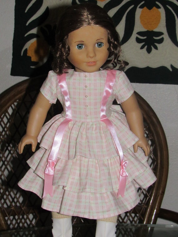 New American Girl Cecile/'s DRESS 4 Summer Outfit Elizabeth Felicity Marie-Grace