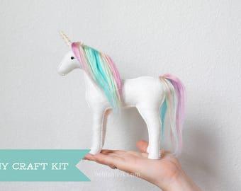 Unicorn Sewing Craft Kit * Make Your Own Stuffed Unicorn.
