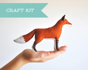 DIY felt sewing kits