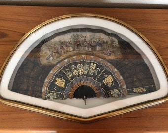 Hand painted European Framed Fan