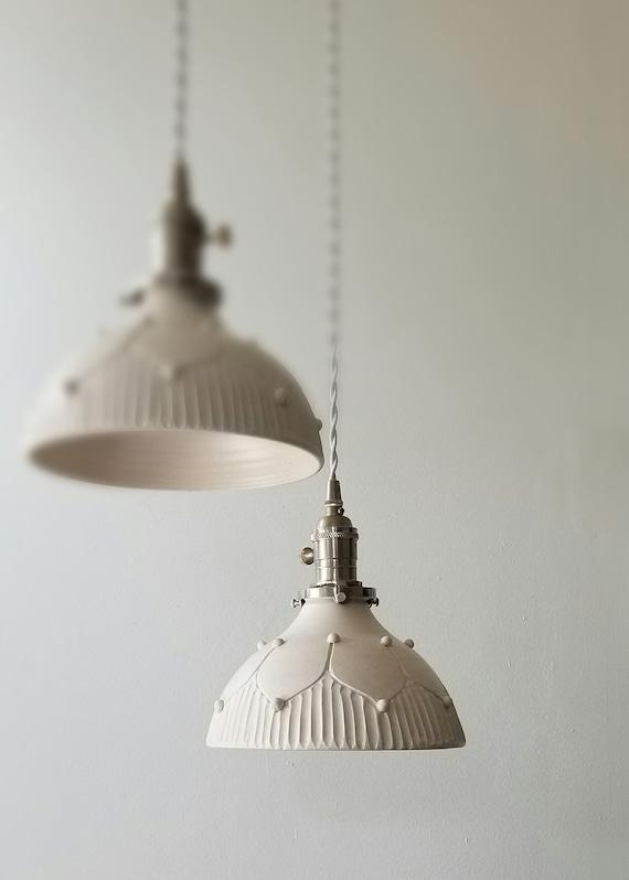 Hand carved hanging pendant lamp-Lighting-Ceramic Lamp-Lighting-Ceramic  Lamp-Pendant Lamp-Kitchen Lighting-Home Decor lighting-custom lights