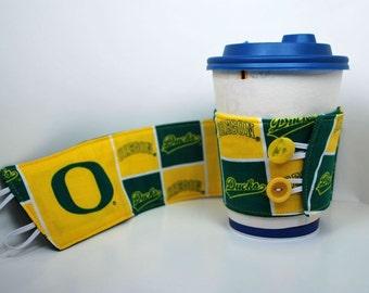 University of Oregon coffee cozy
