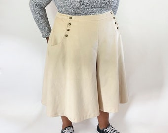 CURVE - Bastion Culottes Ladies PDF Sewing Pattern Multi Size 16 to 34